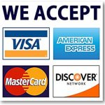 Blessings Plumbing Accepts Most Major Credit Cards